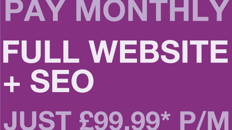 Our Affordable Website & SEO Package